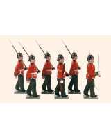 086 Toy Soldiers Set King's Own Scottish Borderers Painted