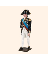 535 Toy Soldiers Set Admiral Lord Nelson 1805 Painted