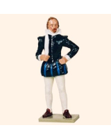 544 Toy Soldier Set William Shakespeare Painted