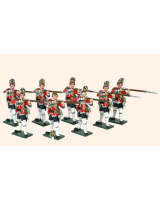 652 Toy Soldiers Set British Grenadiers Painted