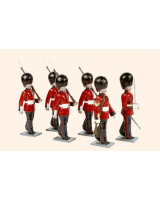 088 Toy Soldiers Set Scots Guards 1894 Painted