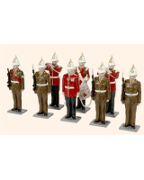 GR2 Toy Soldiers Set The Gibraltar Regiment Painted