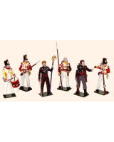 SR2 Toy Soldiers Set Sharpes Eagle Painted