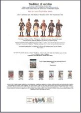 Catalogues; Toy Soldier and Model Figures