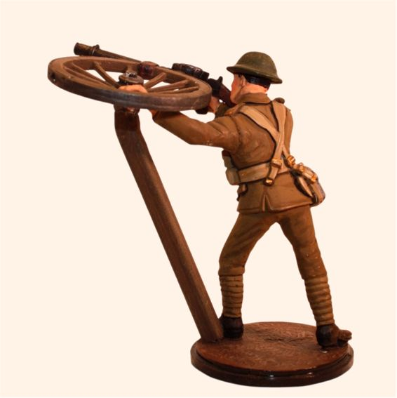 1916 Firing A.a Lewis Gun