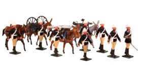Toy Soldiers 54mm Painted in Gloss British Army 1879-1900