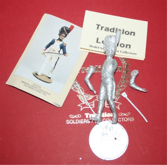 Tradition of London unpainted Toy Soldiers and Model Figures as below