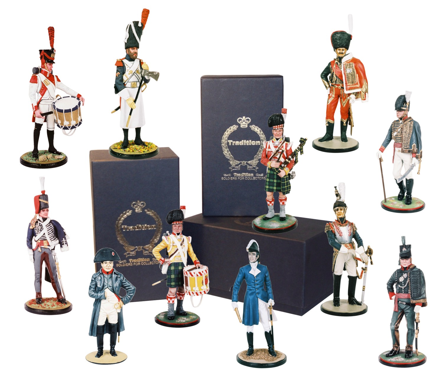 Model Soldiers 90mm Napoleonic War