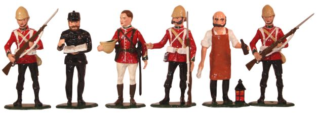 2013 Christmas set Zulu War 1879 - The British Army 24th Regiment of Foot