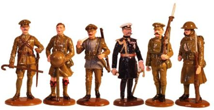 Christmas 2014 Toy set The British Army WW1