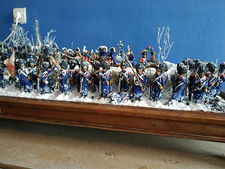 EYLAU - 54mm Napoleon ordered Marshall Murat to charge