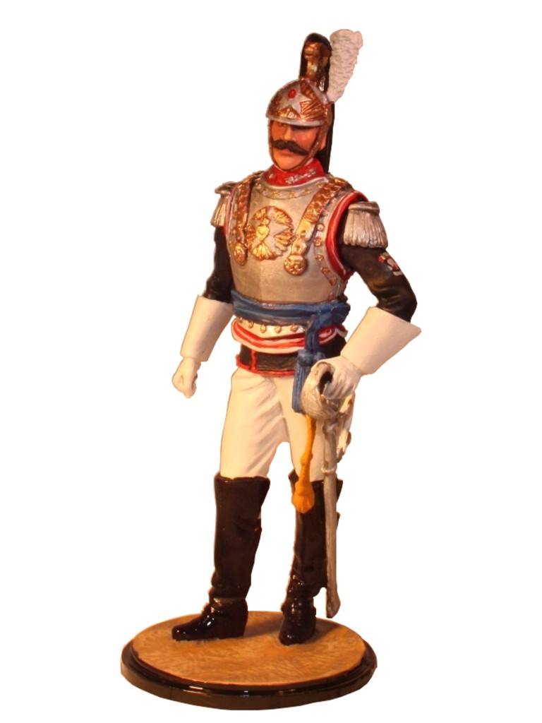Officer Italian Cuirassier Carbinieri 90mm