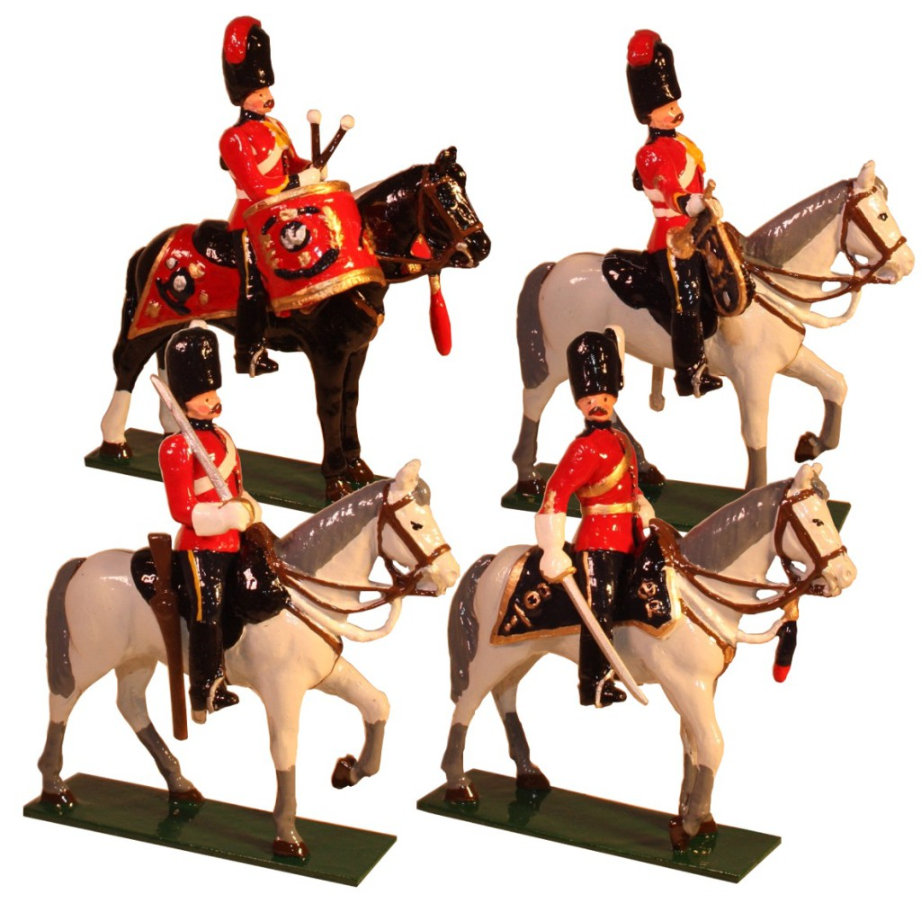 Toy Soldier The 2nd Dragoons 1900