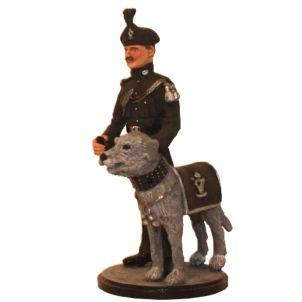 Royal Irish Ranger and Mascot 1984