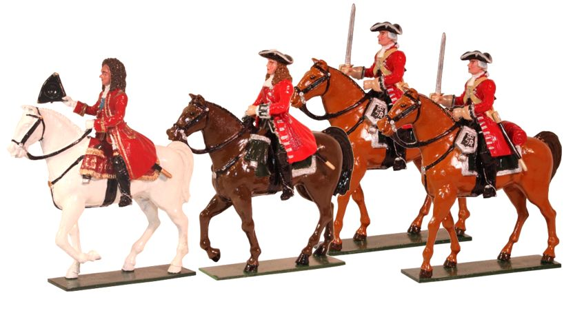 Toy set 54mm Marlborough era Battle of Blenheim
