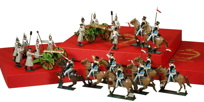Toy Soldiers 54mm Painted in Gloss Crimean War 1853-1856