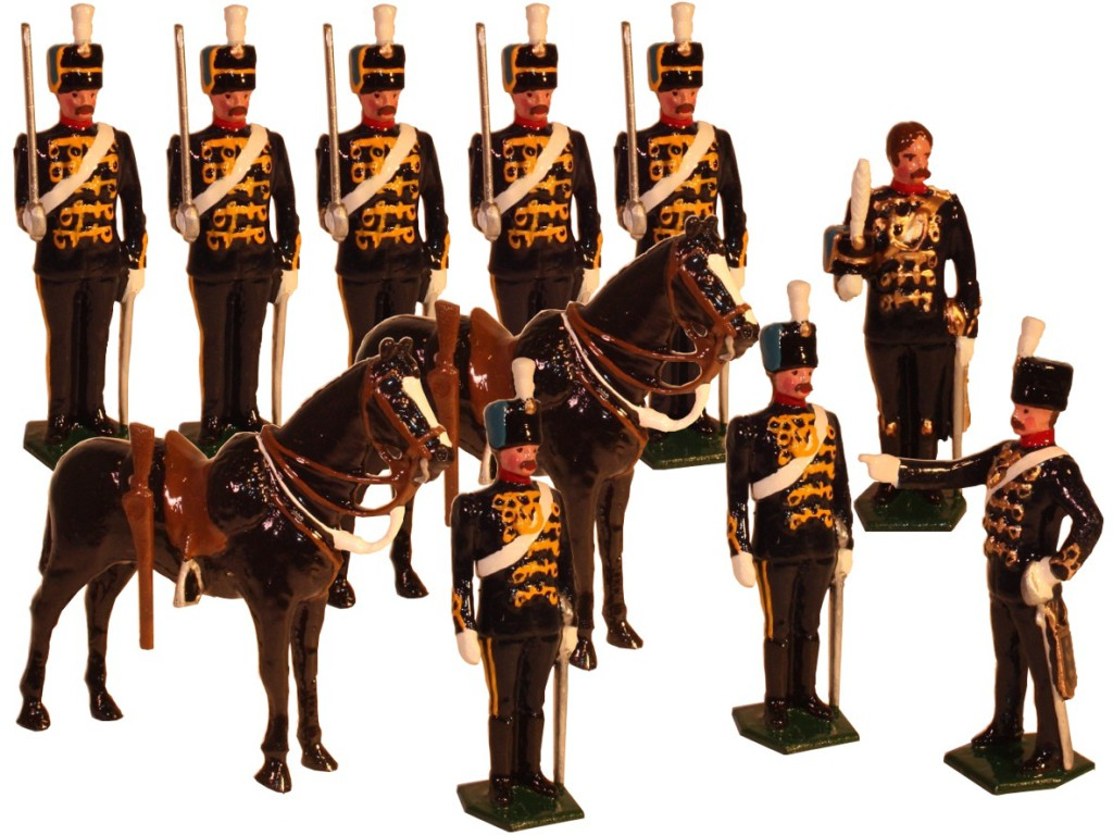Toy Soldier Set - 7th Cavalry Regiment