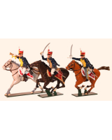 0762 Toy Soldiers Set British Hussars, 10th (Prince of Wales's Own) Hussars Painted