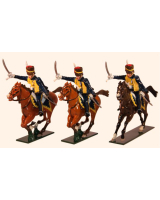 0761 Toy Soldiers Set 7th Queens Own Hussars Painted