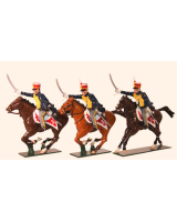 763 Toy Soldiers Set British Hussars, 10th (Prince of Wales's Own) Hussars Painted