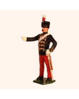 034b 2 Toy Soldier Sergeant Major The 11th Prince Alberts Own Hussars Kit