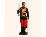 035b 2 Toy Soldier Officer The 11th Prince Alberts Own Hussars Kit