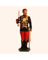 034b 1 Toy Soldier Officer The 11th Prince Alberts Own Hussars Kit