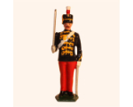 035b 3 Toy Soldier Trooper at Attention The 11th Prince Alberts Own Hussars Kit