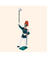 0057 1 Toy Soldier Drum Major Marching Kit