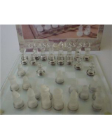 Glass Chess set - Small