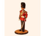 Sqn80 076 Drum Major The Royal Welsh Fusiliers 1984 Kit