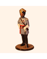 Sqn80 107 Officer 1st Madras Lancers 1887 Painted