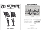 Old Toy Soldier Magazine 1997 Volume 21 Number 1Bussler Miniatures