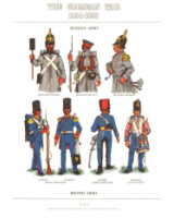 Plate No.059 The Crimean War 1854-1856 Russian Army - British Army