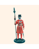 JW90 YG Beefeater Yeoman Warder Painted