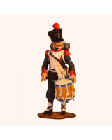 NF 01C Drummer French Line Infantry Campaign Dress 1809-1815 Painted
