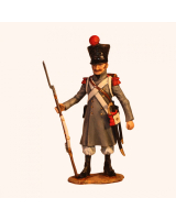 NF 01E Private in Greatcoat French Line Infantry Campaign Dress 1809-1815 Painted