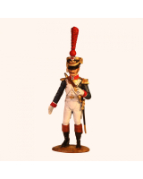 NF 02A Officer Line Infantry Full Dress, 1807-1812 Painted