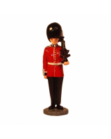 RPWM-13 Welsh Guard at attention with SA80 rifle Painted