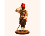 Sqn80 001 Drum Major Saluting King's African Rifles circa 1956 Painted