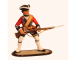 Sqn80 032 Musketeer British Line Infantry circa 1750 Painted