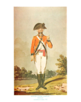 Plate ToL No.023 Officer Centre Company Drill Order Coldstream Guards 1792