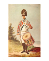 Plate ToL No.026 Drummer Drill Order Coldstream Guards 1792
