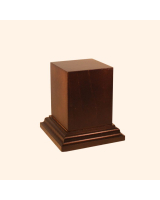 B-046 Wooden Base/ Plinth 5,0 x 5,0 Cm / 7,0 x 7,0 Cm