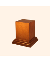 B-047 Wooden Base/ Plinth 5,0 x 5,0 Cm / 7,0 x 7,0 Cm