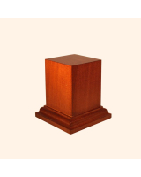 B-048 Wooden Base/ Plinth 5,0 x 5,0 Cm / 7,0 x 7,0 Cm
