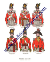 Plate No.001 British Infantry 1815