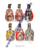 Plate No.002 British Infantry 1815