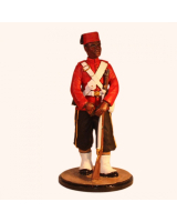 Sqn80 097 Private West Indian Regiment Ashantee Campaign 1873 Painted