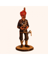 Sqn80 025 Officer 1st Battalion 5th Punjab circa 1922 Painted